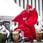 The Bombazo Dance Company will perform.