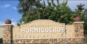 Hormigueros is on the western side of the island.