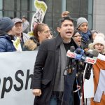 """""""We're saying DREAM Act now, DREAM Act today,"""" said Councilmember Carlos Menchaca."""