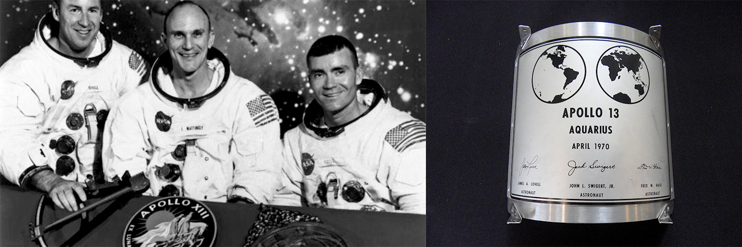 The Apollo 13 astronauts recognized the problems at hand.