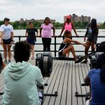 The non-profit offers youths rowing opportunities.