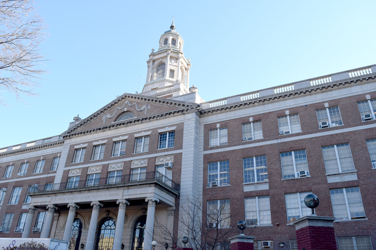 The HighSchoolfor Health Careers and Sciences is part of the George Washington Educational Campus.