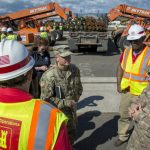 USACE reports it has removed nearly 2 million cubic yards of material. Photo: Patrick Loch