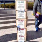 The boxes represented comments ROC collected from workers criticizing the proposed rule.