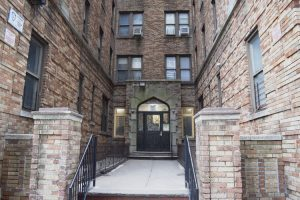 At this building, 50 percent of the units were once used as cluster apartments.