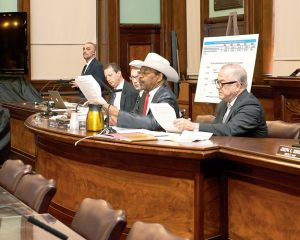 Rev. Ruben Diaz Sr. chairs the For-Hire Vehicle Committee.