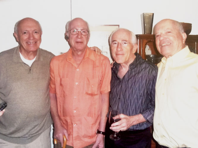 The Hess brothers (from left to right): Walter, Frank, Peter and Karl.
