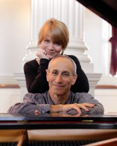 """""""We want to show people thatjazzcan be accessible,"""" explains festival co-founder Louise Rogers, shown here with her husband Mark Kross."""