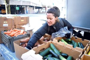 """We want to bring food to where the people are,"" said Manager Erika Freund."