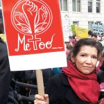 Arroyo at the 2018 Women's March in New York City.