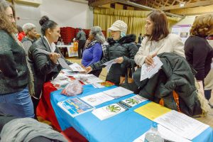 EDC hosted a Spanish language information fair in January. Photo: NYCEDC