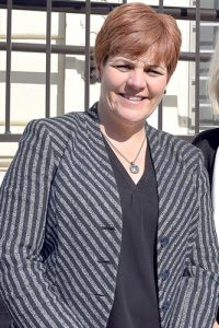 """""""This story today is about people's lives,"""" said Win President and CEO Christine Quinn."""