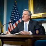 """""""We're coming to the table with real resources,"""" said Mayor Bill de Blasio."""