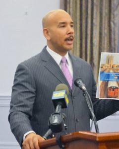 Bronx Borough President Diaz criticized the plan. Photo: Gregg McQueen