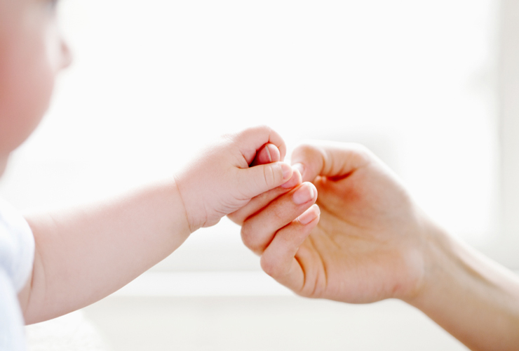 Touch is essential for healthy attachment.