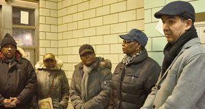 Councilmember Ydanis Rodriguez met with residents.