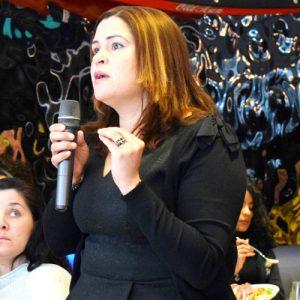 Arelia Taveras of the Latino Restaurant Bar and Lounge Association.