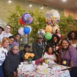 Family and friends gathered for the milestone.