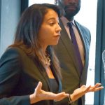 Executive Director of the Washington Heights BID Angelina Ramírez.