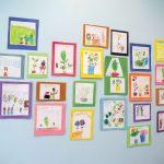 Classroom artwork.