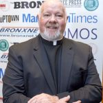 """""""It is important to interact,"""" said Monsignor Kevin Sullivan, Executive Director of Catholic Charities."""