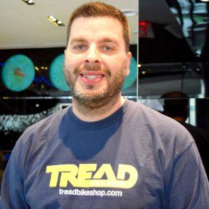 Ozzie Pérez, owner of Tread Bike Shop.