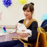"""""""I know where to get help,"""" said Esther who gave birth to her daughter Haven nine weeks earlier."""