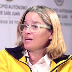 San Juan Mayor Carmen Yulín Cruz.
