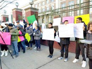 Students had organized numerous rallies.