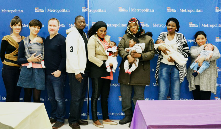 Metropolitan Hospital invited 30 families to celebrate.