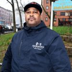"""""""This is something really important,"""" said Carl Davis, head of the Grant Houses Tenant Association."""