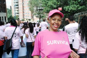 Supporters of the Second Annual Walk Against Cancer, seen here in the inaugural march, will gather again this coming Sun., Sept. 30th.