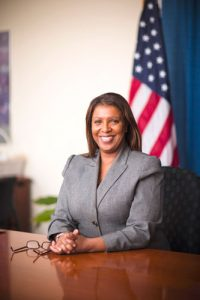 """It is time to move forward,"" said Public Advocate Letitia James."