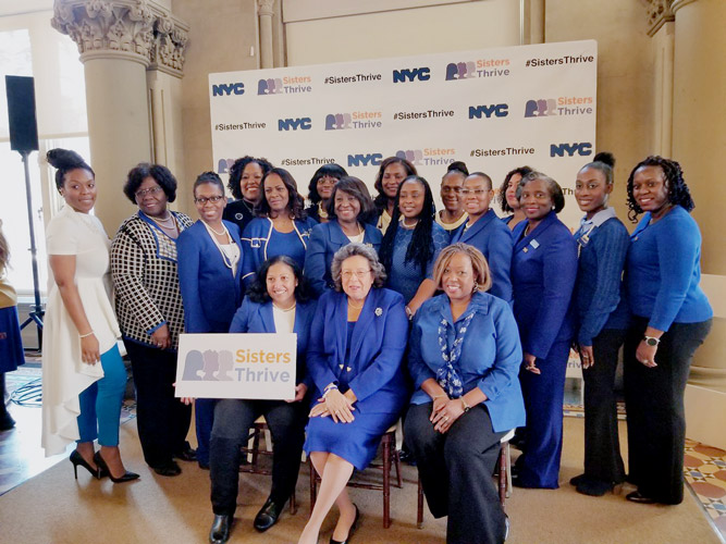 A similar program aimed at black women was launched in December 2017.