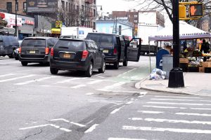 Congestion has increased on Dyckman. Photo: Gregg McQueen.