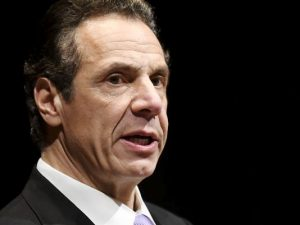 """""""It has nothing to do with me,"""" said Gov. Andrew Cuomo, who was called a """"thief"""" and a """"demon."""""""