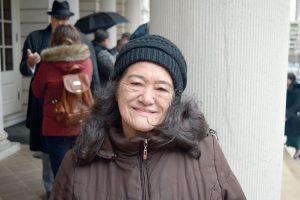 Activist María Beri.