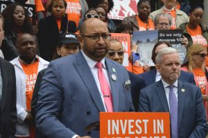 """""""They are safe havens for communities,"""" said DC37 Executive Director Henry Garrido."""