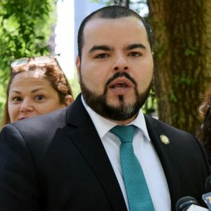 """The federal government owes it to the people of Puerto Rico,"" said Assemblymember Marcos Crespo."