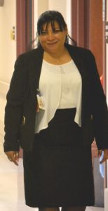 Julia Cruz is the center's Director of Social Services. Photo: D. Johnson