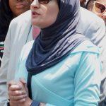 Civil rights activist Linda Sarsour.