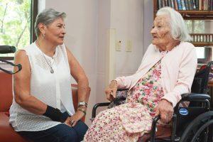 Josefina Medina and her daughter Lydia Cardona.