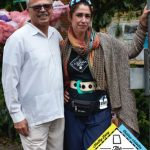 Raúl Russi, director general de la Red Acacia, con Libertad Guerra, directora del Centro Loisaida.
