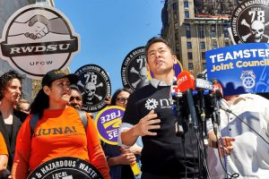 """Immigrant communities have been under sustained attack,"" said NYIC Executive Director Steven Choi."