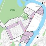 The proposed rezoning area includes five sub-districts.