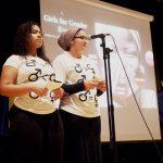 The spoken word performance. Photo: Jacquiana Jiménez