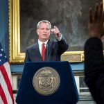 De Blasio has ordered a halt to arrests for marijuana smoking. Photo: Ed Reed