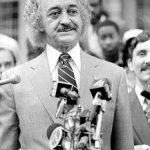 """El ex asambleísta Herman """"Denny"""" Farrell fue electo por primera vez en 1974."""