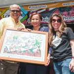 """""""Together we found a way,"""" says Raúl Russi (here with Congresswoman Nydia Velázquez and Lymaris Albors in 2016)."""