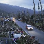 Hurricane Maria was a Category 4 storm that left Puerto Rico without power.